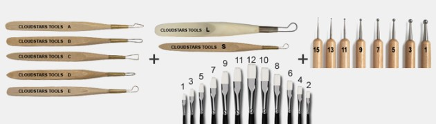 LIMITED SET This is a complete assortment of tools needed for sculpting. With these set of tools, you are able […]