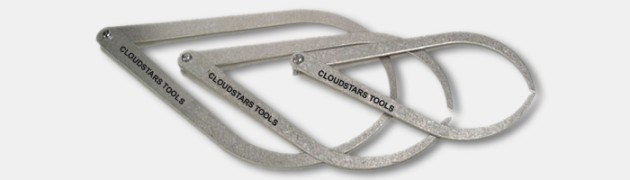 "8"" Metal Caliper Made from a tough steel alloy, these tools are lightweight and easy to handle and will measure […]"