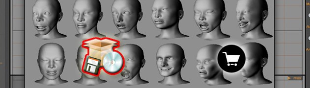 $47.97 - 3D SOFTWARE :faster and most efficient way to create great looking realistic faces with expressive expressions for your illustrations, paintings or even 3D work.